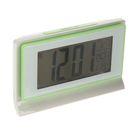 Часы настольные электронные прямоугольные, горизонтальные, микс, батарейки 3 х ААА, 13,5 х 3,5 х 8 см