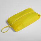 Сумка для обуви на молнии, 1 отдел, цвет жёлтый