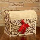 Коробка для денег «Семейный банк», деревянный - фото 1730368