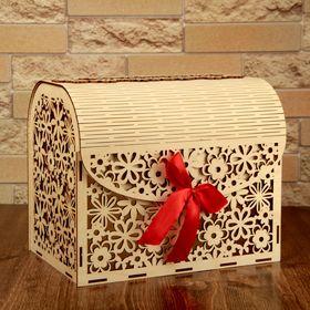 Коробка для денег «Семейный банк», деревянный