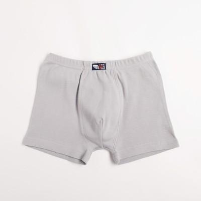 Трусы- боксеры для мальчика, рост 146 см, цвет серый