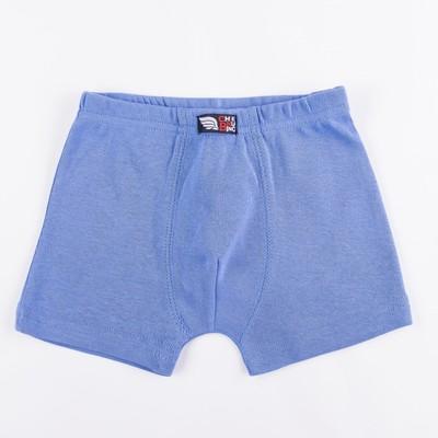 Трусы-боксеры для мальчика, рост 92 см, цвет синий