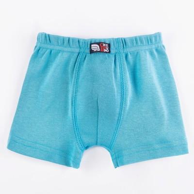 Трусы-боксеры для мальчика, рост 92 см, цвет бирюзовый