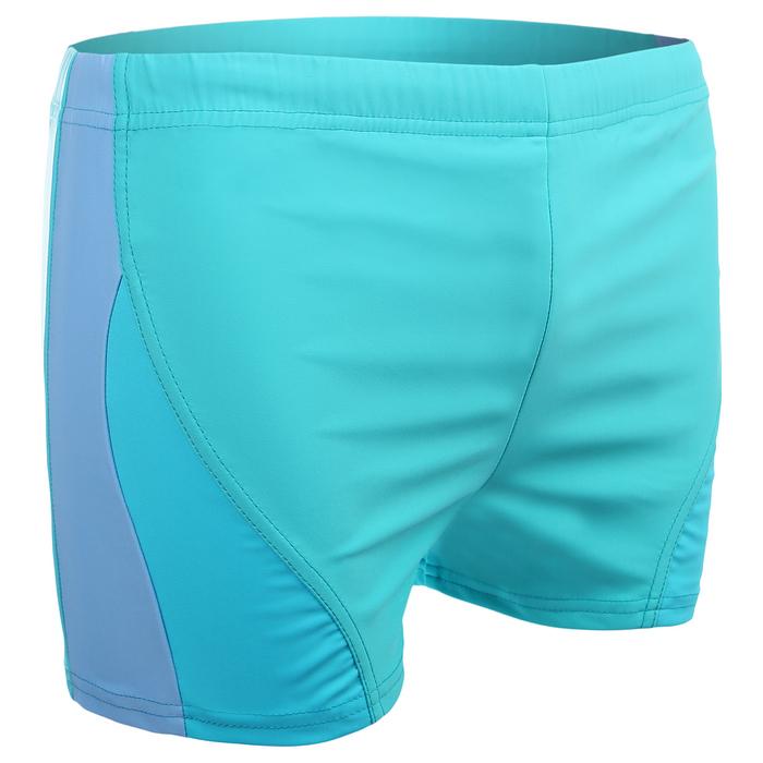 Плавки-шорты взрослые для плавания, размер 50, цвет чёрный/синий