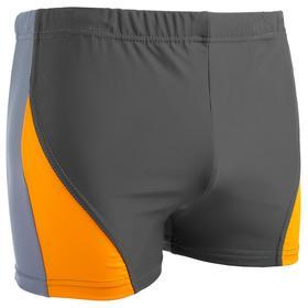 Плавки-шорты взрослые для плавания, размер 52, цвет чёрный/синий Ош