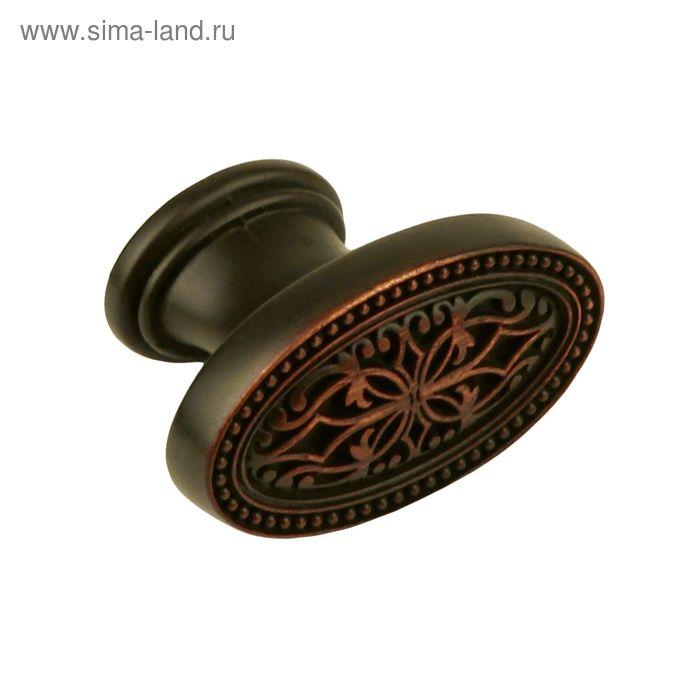 Ручка-кнопка BOYARD RC415BAC, цвет античная медь