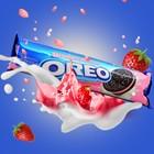 Печенье Oreo Strawberry 137 г