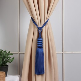 Brush for curtains Nargis, L-70(±1)cm, 111, color blue