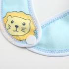 Нагрудник детский непромокаемый «Для мальчишек», на кнопках, цвета МИКС - фото 105449251