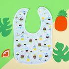 Нагрудник детский непромокаемый «Для мальчишек», на кнопках, цвета МИКС - фото 105449255