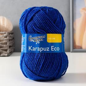 Пряжа Karapuz Eco (КарапузЭко) 90% акрил, 10% капрон 125м/50гр василек (180)