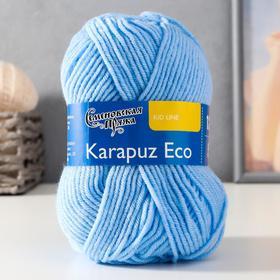 Пряжа Karapuz Eco (КарапузЭко) 90% акрил, 10% капрон 125м/50гр голубой (3)