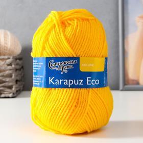 Пряжа Karapuz Eco (КарапузЭко) 90% акрил, 10% капрон 125м/50гр канарейка (216)