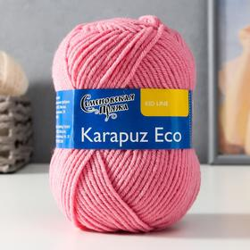 Пряжа Karapuz Eco (КарапузЭко) 90% акрил, 10% капрон 125м/50гр клевер (64)