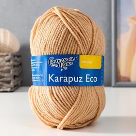 Пряжа Karapuz Eco (КарапузЭко) 90% акрил, 10% капрон 125м/50гр св.беж (17)
