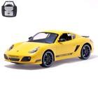 """Машина радиоуправляемая """"Porsche Cayman R"""", масштаб 1:10, работает от аккумулятора, свет"""