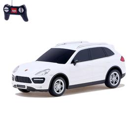 Машина радиоуправляемая Porsche Cayenne turbo, масштаб 1:24, работает от батареек, свет, цвет белый