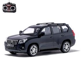"""Машина радиоуправляемая """"Toyota Land Cruiser Prado"""", 1:16, работает от аккумулятора, свет, МИКС"""
