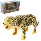 Животное «Леопард», ходит, работает от батареек