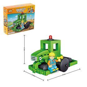 Конструктор «Забавный трактор», 159 деталей