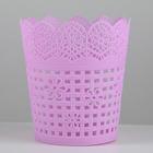 Корзина для хранения «Плетение», 10,5?10,5?11,5 см, цвет МИКС
