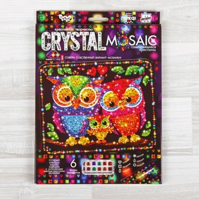 CRYSTAL MOSAIC mosaic set for creating mosaics, against a dark background