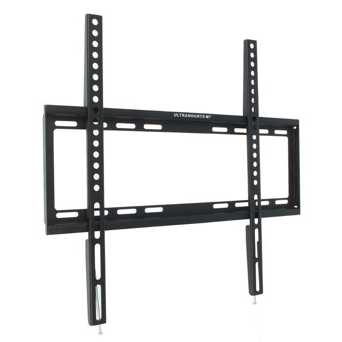 """Кронштейн Ultramounts UM812F, для ТВ, фиксированный, 32""""-55"""", 19.5 мм от стены, черный"""