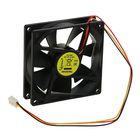 Вентилятор Gembird, 90x90x25, подшипник, 3 pin, провод 30 см