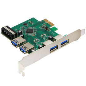 USB 3.0 Контроллер AgeStar U3E-2, PCI-E