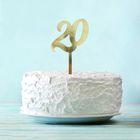 """Топпер в торт """"20"""""""