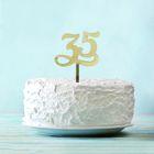 """Топпер в торт """"35"""""""