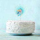"""Украшение для торта """"1 годик""""малыш р-р 15см"""