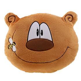 Мягкая игрушка-подушка «Весёлый медведь», 30 см