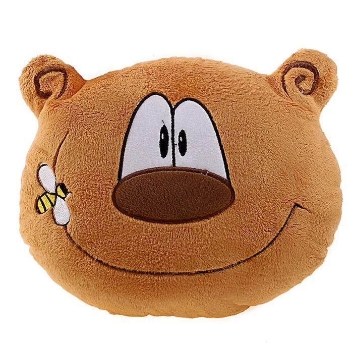 """Мягкая подушка """"Весёлый медведь"""", 30 см"""