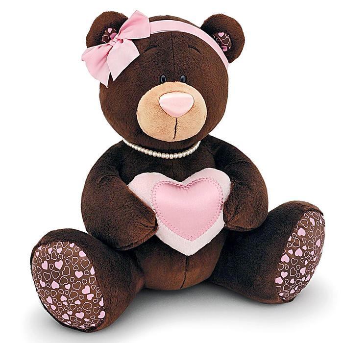 Мягкая игрушка «Девочка Milk» с сердцем