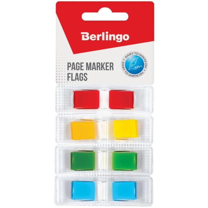 Флажки-закладки 45х12 мм, 4 неоновых цвета по 35 листов, в индивидуальных диспенсерах, европодвес