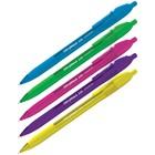 Ручка шариковая автоматическая Triangle 110 RT Color, узел 0.7 мм, чернила синие, трёхгранная, игольчатый стержень