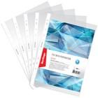 Папка-вкладыш с перфорацией, А4, 30 мкм, глянцевая, 100 штук в упаковке