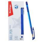 Ручка шариковая xGold, узел 0.7 мм, чернила синие, игольчатый стержень, грип