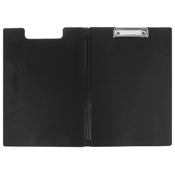 Папка-планшет с зажимом А4, ПВХ Berlingo, чёрная - фото 438352677