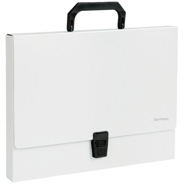 Папка-портфель 1 отделение Standard, 1000 мкм, серая
