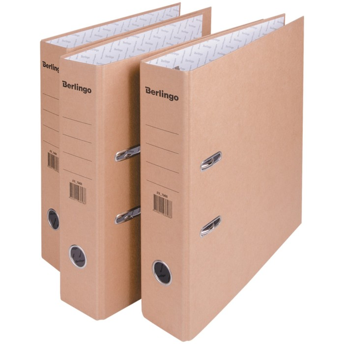 Папка-регистратор 70 мм ECO, картон