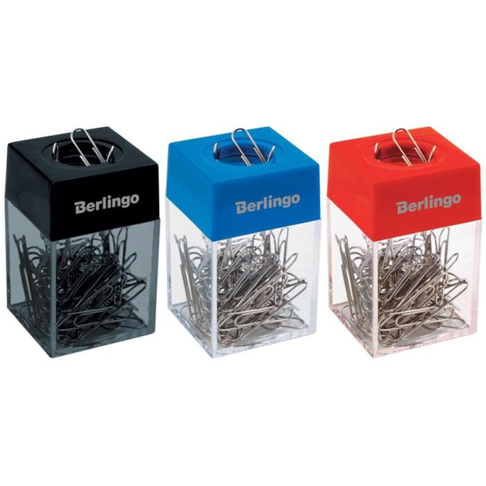 Скрепочница магнитная без скрепок, индивидуальная упаковка