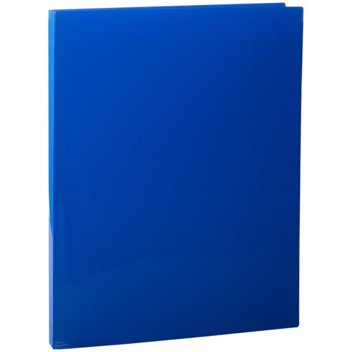 Папка с зажимом А4, 14 мм, 500 мкм Line, синяя