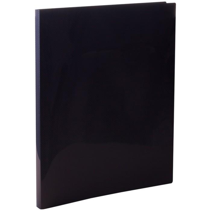 Папка с зажимом А4, 14 мм, 500 мкм Line, чёрная