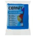 Полимерная глина запекаемая, Cernit Number One, 56 г, синяя, №200