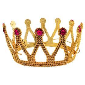 Корона принцессы, с камушками, большая