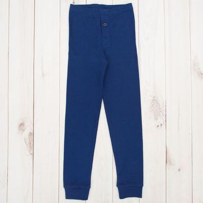 Кальсоны для мальчика, рост 104 см, цвет тёмно-синий