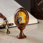 Яйцо сувенирное «Рождество Христово», на подставке