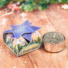 Рождественская свеча с предсказанием «Храм», 4,5 х 4,5 х 2,8 см